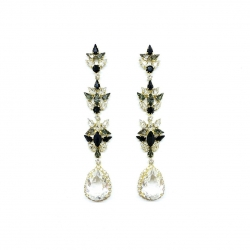 Rochelle Earrings 🌟 #epajewel  Another piece from our art deco collection
