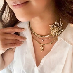 Sherie Layered Necklace 🤍 #epajewel  A favourite!
