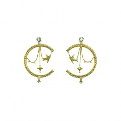 Our new Amare Reverse Hoop Earrings in our Sam & Eli collection ✨ #epajewel