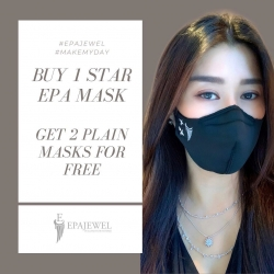 You Got this 🌟#100rb  Don't forget to hashtag in your Instastory to get 2 Plain mask for FREE  #makemyday #epajewel  Limited offer